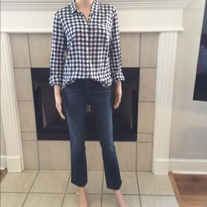 Jcrew size 26 match stick jeans